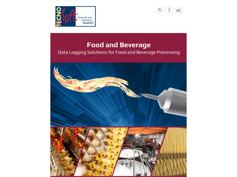 New brochure for data logging solutions for food and beverage processing