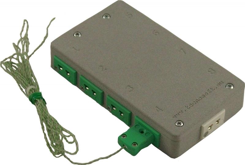 TC-Log 8 ora con connettori universali