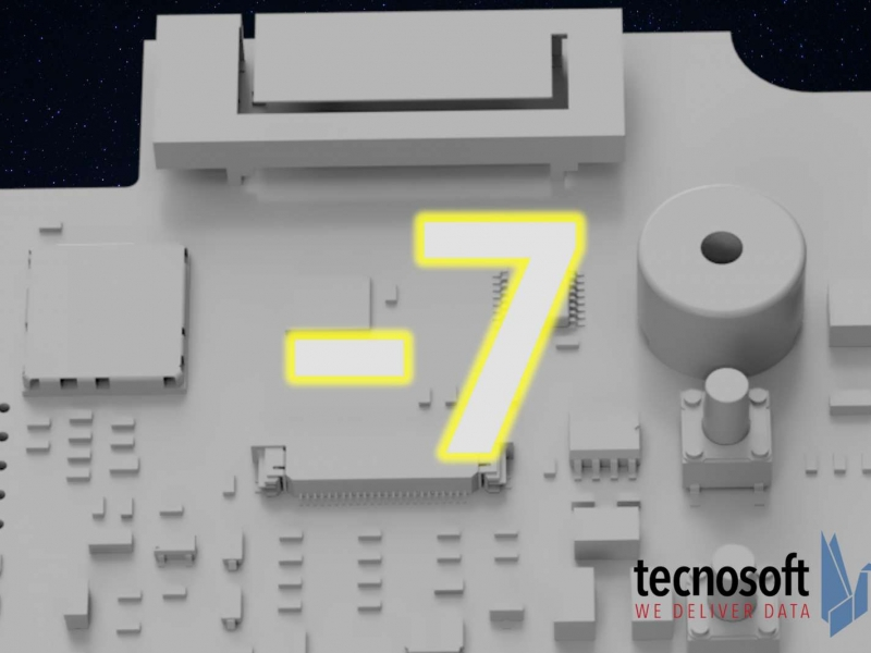 The Crew Dragon countdown is suspended, the Tecnosoft one continues!