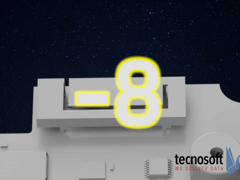 Today SpaceX, next week Tecnosoft!