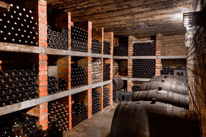 Cellar temperature & humidity