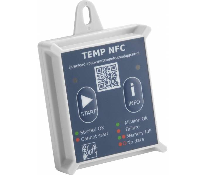TempNFC RC (Rigid Case)